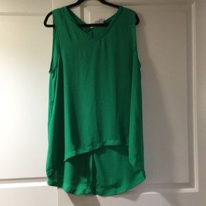 Green sheer 14th and Union top size XL NWOT